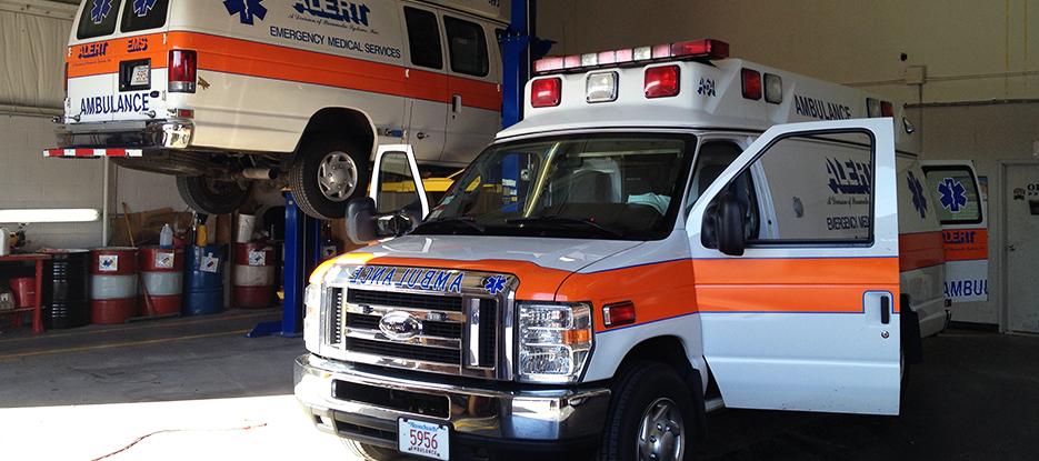 Alert Ambulance Fleet Maintenance